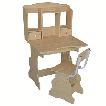 Wooden Adjustable Simple Design Kids Study Table And Chair Buy