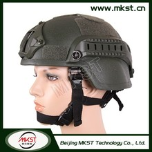 MKST Protection Area 0.13m2 Kevlar Anti Ballistic Helmet