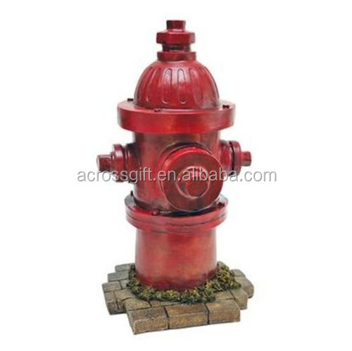polyresin/resin Fire Hydrant Indoor Outdoor Garden Statue Dog Training