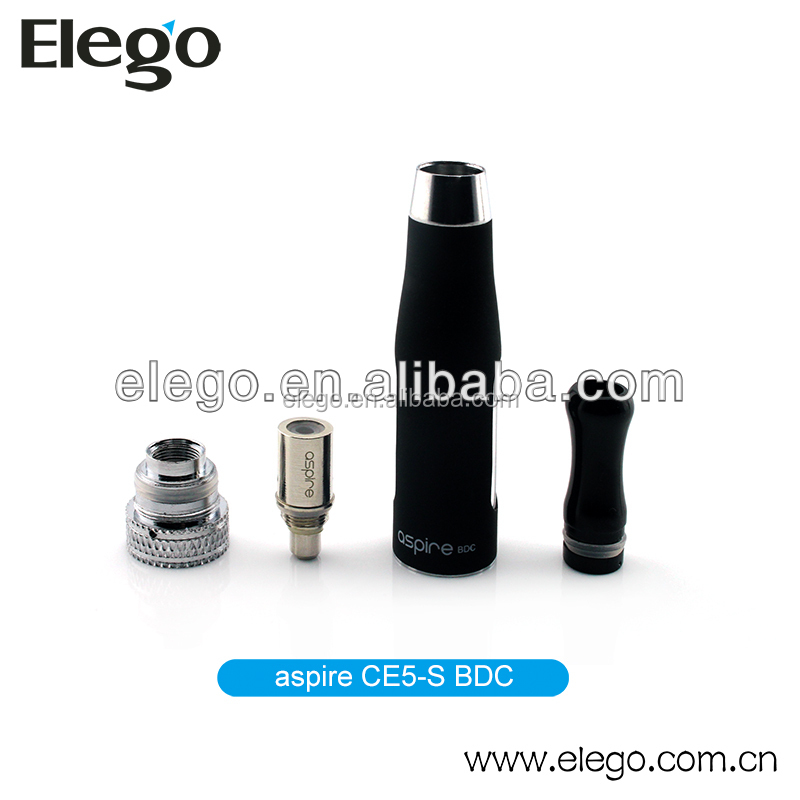 Replaceable 1.8ohm Dual Coils aspire ce5-s BDC tank/atomizer/clearomizer wholesale
