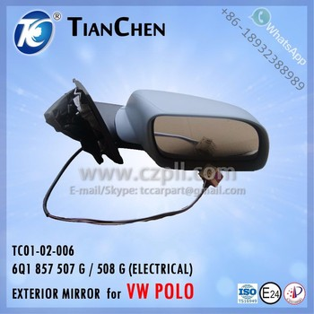 Exterior mirror for vw polo 2002 2006 electrical 6q1 857 507 g exterior mirror for vw polo 2002 2006 electrical 6q1 857 507 g 508 g publicscrutiny Choice Image
