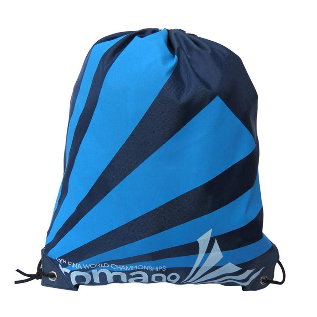 Drawstring Backpack Sport Gym Bags - Cute Satchel Rucksack Swimming Beach Outdoor Drawstring Bags Pouch - Party Favors Bags Goody Bag Stuffers Bundle Pocket Storage Bag for Teens Boys Girls