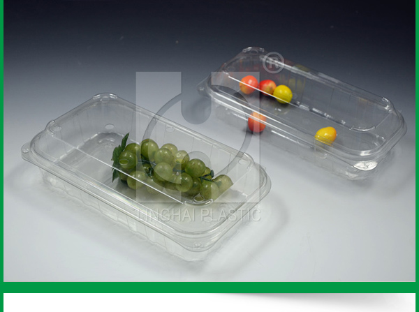 Plastic blister tray for fruit punnet box packaging Transparent Fruit Plastic Packaging Clamshell