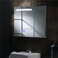 Hot intelligentialize wall mounted bath led mirror for hotel