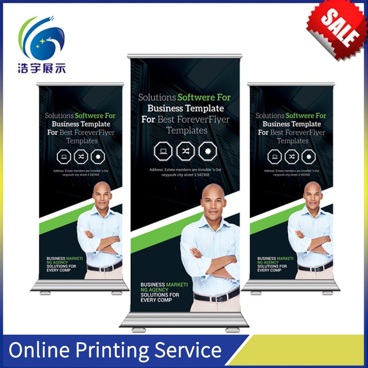 Electric Hand Digital Hanging Roll up Banner