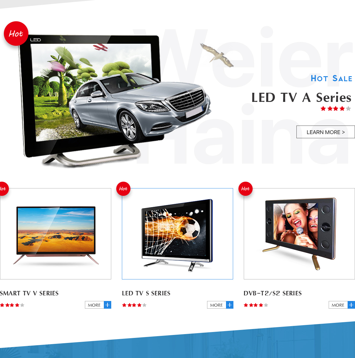 Guangzhou Weier Haina Electronic Co Ltd Led Tv Lcd Hot Deals Samsung 32fh4003 Hitam 32 Inch Chat Online