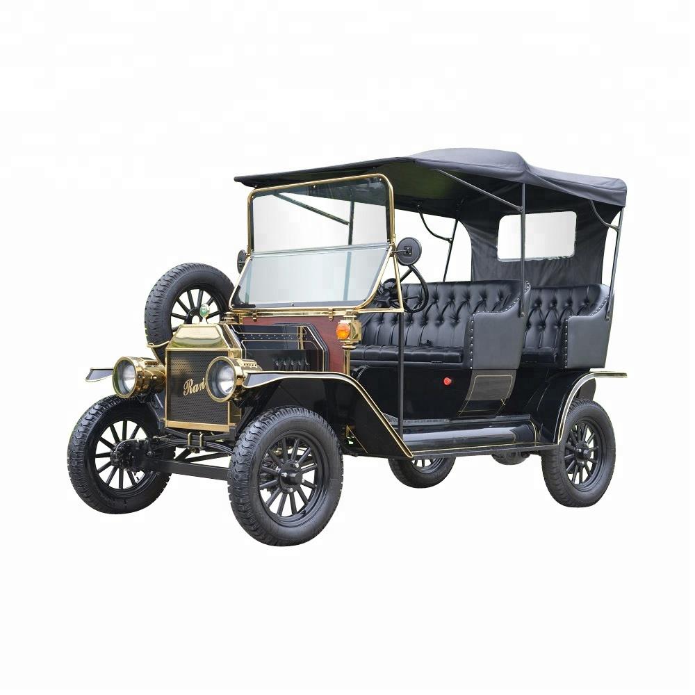 Graceful design elegant 4 seater golf cart 48V electric Classic Car