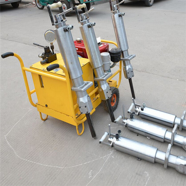 Similar to Darda Hydraulic Rock Splitter for Mining,rock splitting machine with cylinders