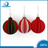 hanging paper red/white/green christmas paper ball/heart/star/tree for christmas tree decorations