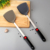 Chinese Style Silicone Handle Kitchen Utensil Cooking Tool Stainless Steel Turner