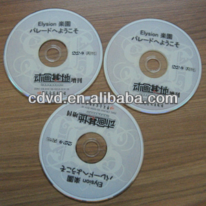 china designed movies CD Replication and printing