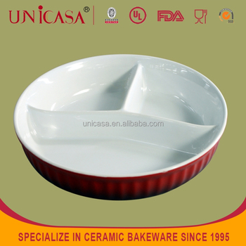 Ceramic ided food platecompartment dinner plate dinner ided plate & Ceramic Divided Food PlateCompartment Dinner PlateDinner Divided ...