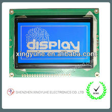 128x64 dots blue color lcd screen