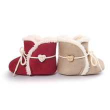 Bottom Half Winter Models Baby Warm Shoes Cotton Khaki Red Boots Modern Baby Boots Baby Shoes