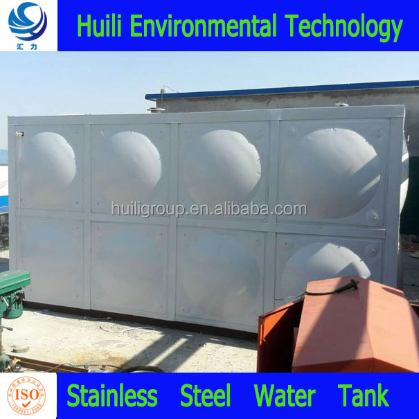 cube sectional ss 304 316 stainless steel water tank in the philippines