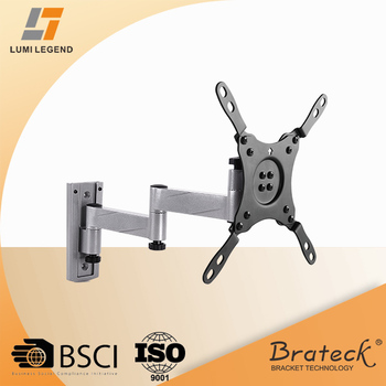 180 Degree Adjule Tv Wall Mount Metal Angle Brackets For 13 To 42 Inch Screen