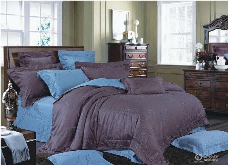 2015 China Luxury Bed Sheet Black Satin Sheets Bright Color ...