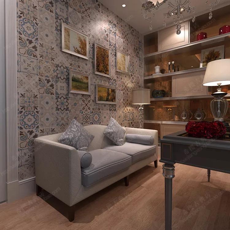 amazing marocain dcoration carreaux de ciment pas cher salle de bains rustique carreaux de. Black Bedroom Furniture Sets. Home Design Ideas