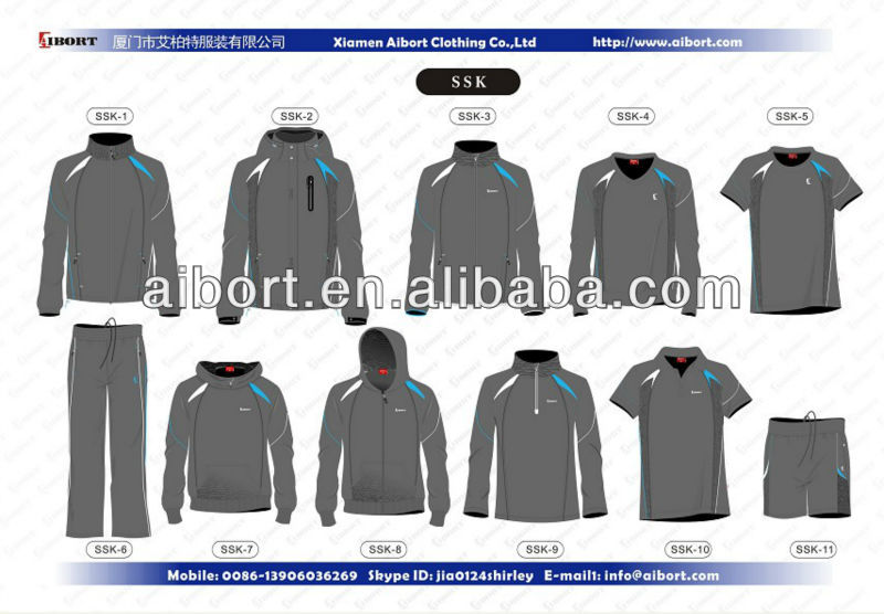 sports jogging wear Chinese Clothing Manufacturers