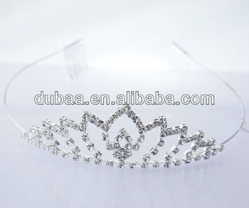 Wedding Tiara Bridal Tiaras Fashion Hairbands With Stones Fascinators