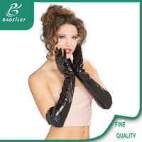 2017 latest professional custom running motorcycle leather glove