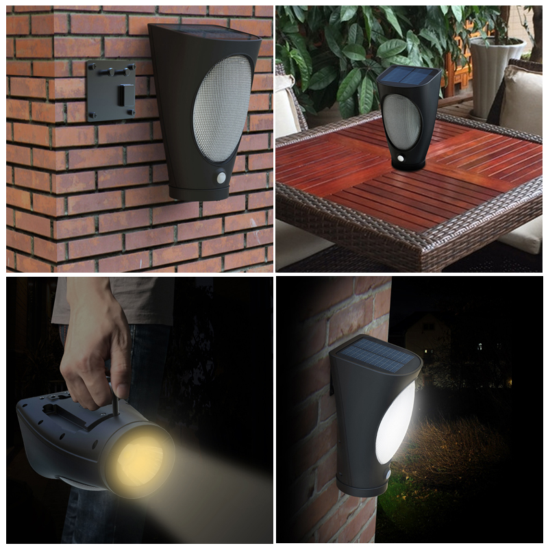 high quality outdoor solar torch light manufactured in China