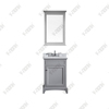 24inch small size single sink grey transitional Bathroom Vanity, Bathroom Cabinet