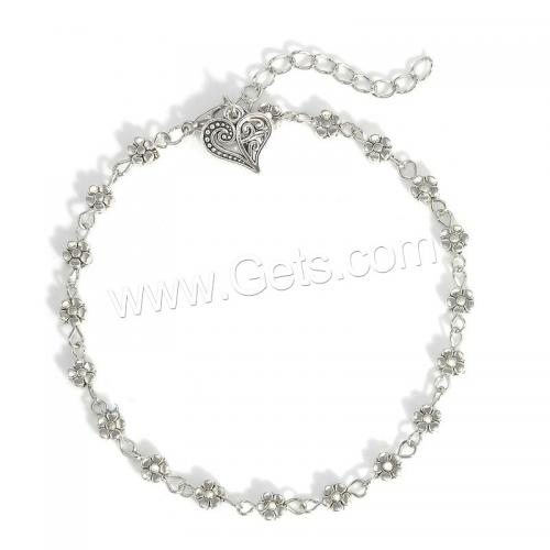 Silver color Zinc Alloy Anklet fashion design with cheaper price