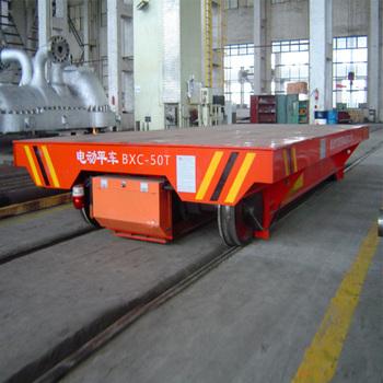 Heavy Material Handling Steel Coil Transfer Car On Rails