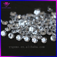 NATURAL WHITE DIAMOND ROUGH ,1MM-4MM SIZE