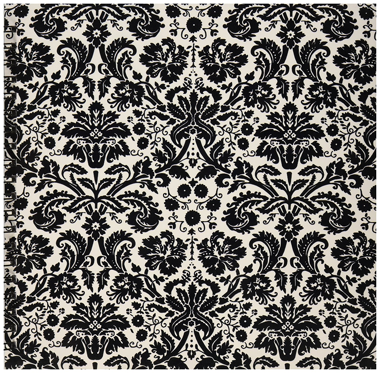 Buy 3drose Db1514412 Black And White Damask Stylish Swirling