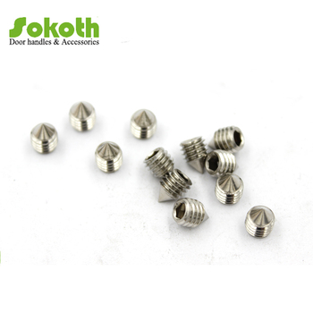 Hex Socket Set Wood Screw Grub Screw With Cone Point For