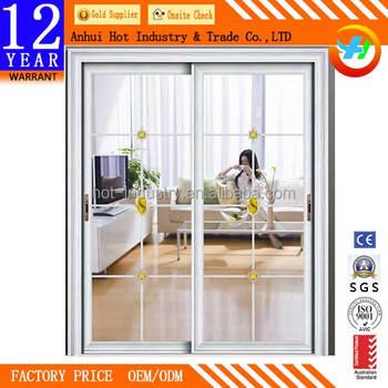 Frosted Glass Sliding Doors Aluminum Frame Toilet Door Main Gate Design Entry Room