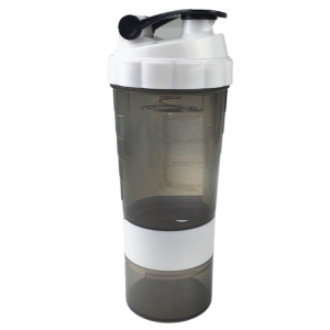 OPTIMUM NUTRITION 2 PART SHAKER CUP BOTTLE 600ML GREAT FOR MIXING PROTEIN