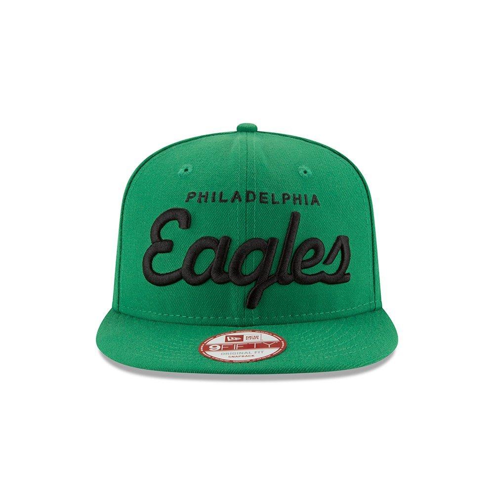 0b084c8261e Get Quotations · Philadelphia Eagles Historic Script Snapback Hat   Cap