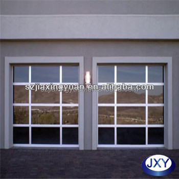 Anodized Aluminum Glaze Glass Garage Side Door Buy Garage Side