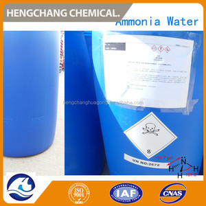 Industrial Chemical Ammonia Solution 25% /NH4OH Price for Nigeria