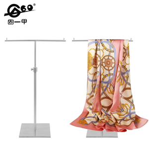 Fashion mental scarf display stand stainless steel rack tie stand