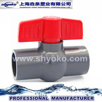 PVC Compact Ball Valve for Water Supply