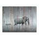 HD Photo Canvas Prints Elephant and Zebra Painting Wood Board Painting Modern Home Wall Decoration Wholesale