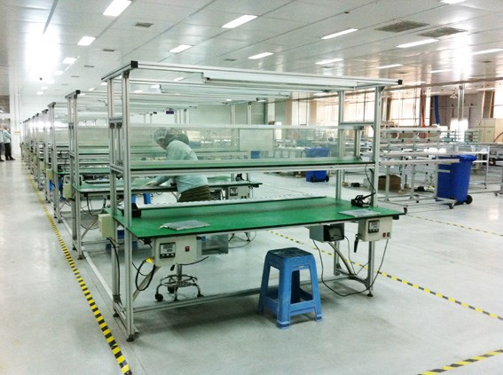 solar panel soldring station