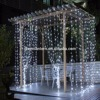 christmas light outdoor 3x3M 300leds led curtain light