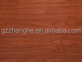 2017 new model water resistant China woodgrain pvc film for kitchen cabinet