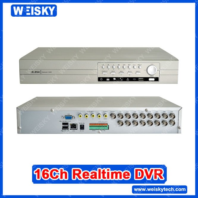 Standalone 16CH H.264 DVR Digital Video Recorder Security dvr
