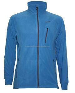Blue Custom Winter Work Wear Polar Fleece Jacket