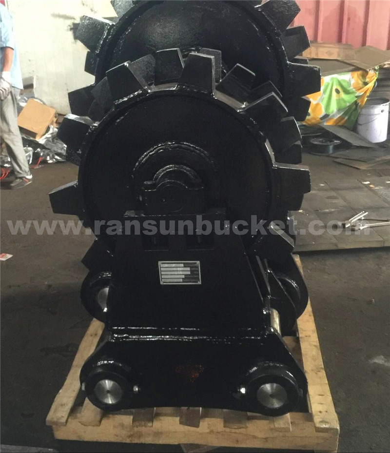 RSBM 13t excavator wheel compactor for sale
