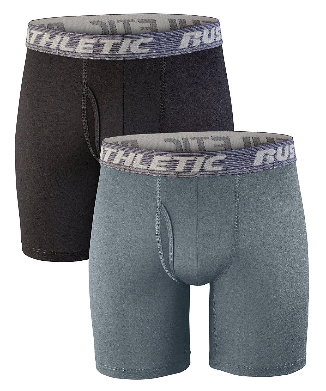 Small Multi Watsons Boys 2 Pack Pro Sport Performance Underwear