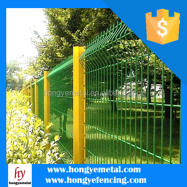 Electric Welded Wire Mesh Fence As A New Popular Type Of Fence Widely Used in European
