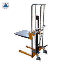 400kg Portable Compact Manual Hydraulic Platform Lift