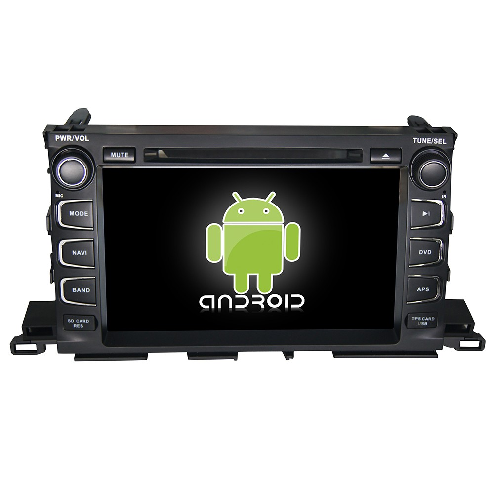 Full touch screen android 4.4 in dash <strong>car</strong> dvd gps special for <strong>Toyota</strong> 2014 Highlander with 3g/Wifi/GPS/RADIO/MIRROR LINK